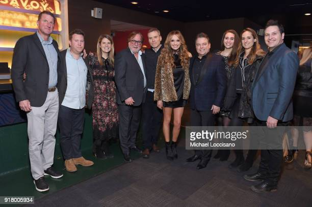 Guest guest CAA Music Agent Cait Hoyt CAA Music Agent and Country Music Hall of Fame Board Member Rod Essig guest musician Carly Pearce CAA Music...