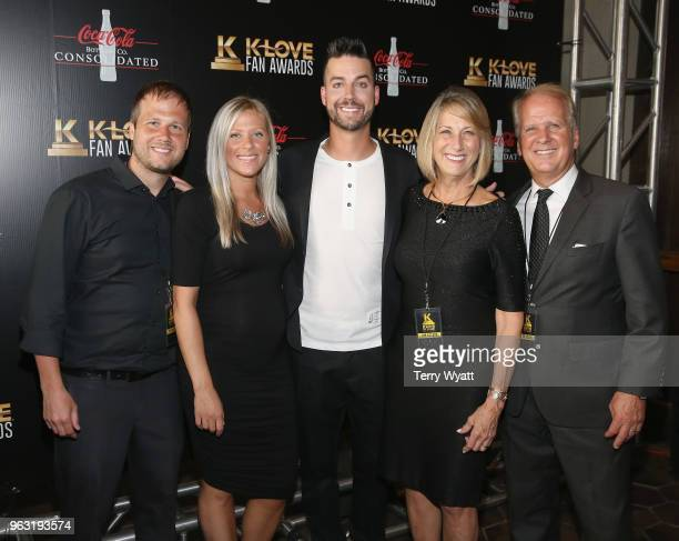 Guest guest John Crist guest and guest attend the 6th Annual KLOVE Fan Awards at The Grand Ole Opry on May 27 2018 in Nashville Tennessee