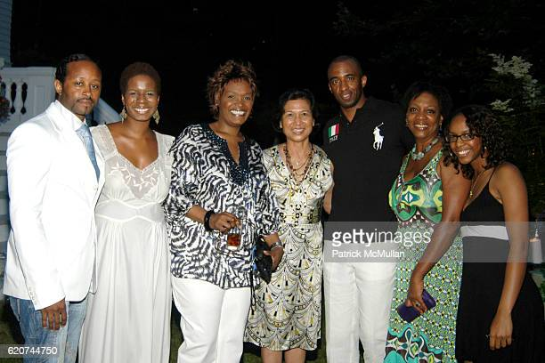 Guest Guests attend The Rush Philanthropic ART FOR LIFE Party hosted by Don and Katrina Peebles at The Home of Don and Katrina Peebles on July 18...