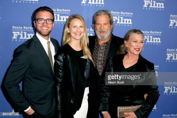 Guest Haley Roselouise Bridges Jeff Bridges and Susan Geston attend the American Riviera Award honoring Jeff Bridges at the Arlington Theatre on...