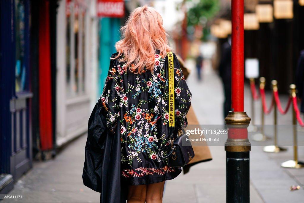 Street Style: Day 2 - LFW September 2017 : News Photo