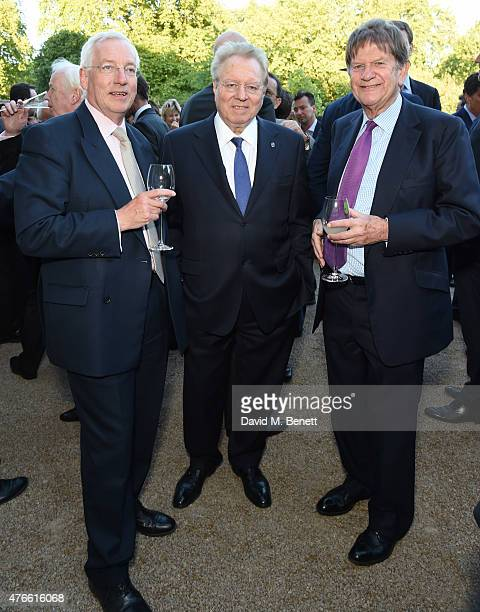 Guest Henry Angest and john Madejski attend the Bell Pottinger Summer Party at Lancaster House on June 10 2015 in London England