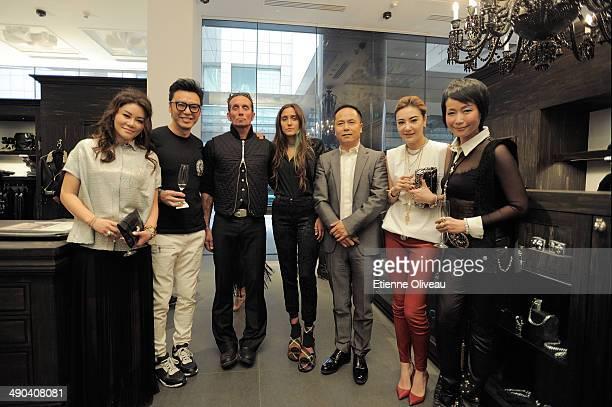 Guest, Hong Kong musicien Kenny Bee, Owner and designer of Chrome Hearts Richard Stark, Singer and designer of Chrome Hearts Jesse Jo Stark, Chinese...