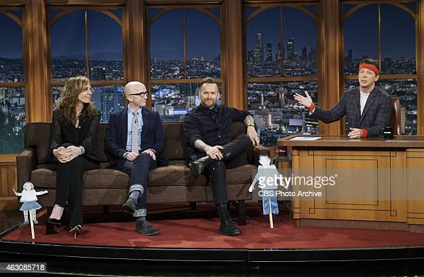 Guest Host Sean Hayes on THE LATE LATE SHOW with guests Allison Janney Jim Rash and Bob Harper on Tuesday Feb 3 on the CBS Television Network