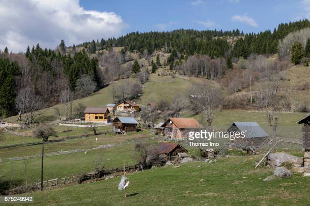 Guest houses on March 30 2017 in Peja Kosovo