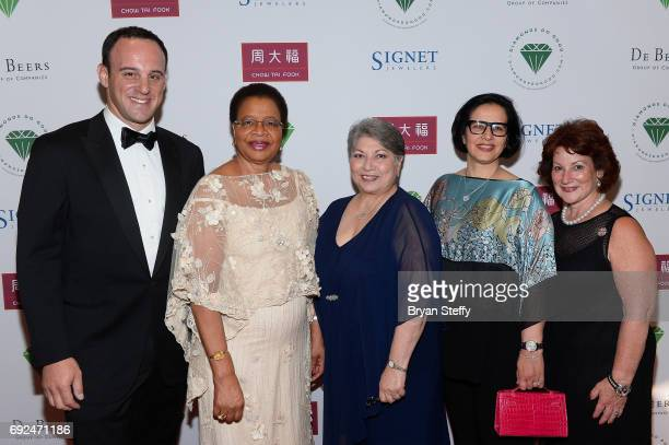 A guest humanitarian Graca Machel Diamond Empowerment Fund Board of Director President Gemological Institute of America Anna Martin Varda Shine and...