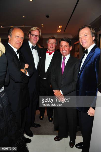 Guest Ian Snow Guest Chris Meigher and Bruce Colley attend ASPREY and Associates Committee host benefit for LENOX HILL NEIGHBORHOOD HOUSE at Asprey...