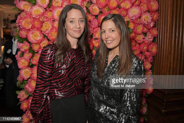guest India Langton and Amanda Sheppard attend a private dinner hosted by Michael Kors to celebrate the new Collection Bond St Flagship Townhouse...