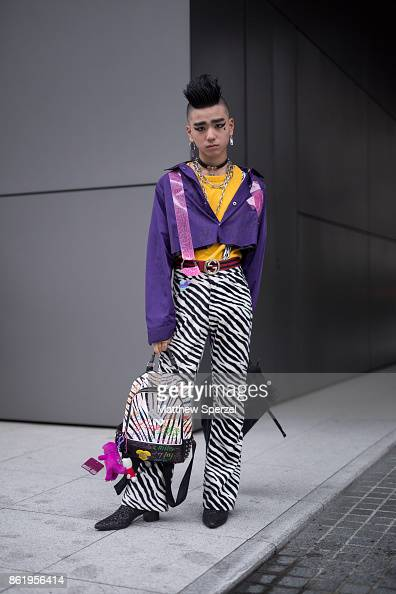 Street Style Amazon Fashion Week Tokyo 2018 S S Photos And Images Getty Images