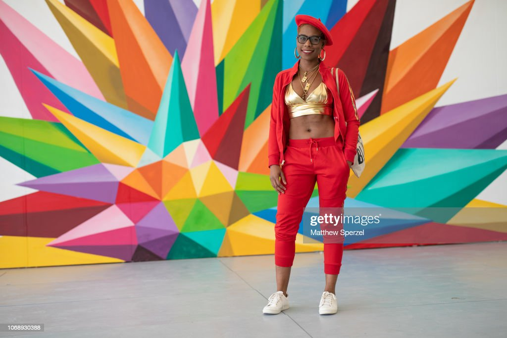 Street Style-Art Basel Miami Beach 2018-Day 4 : News Photo