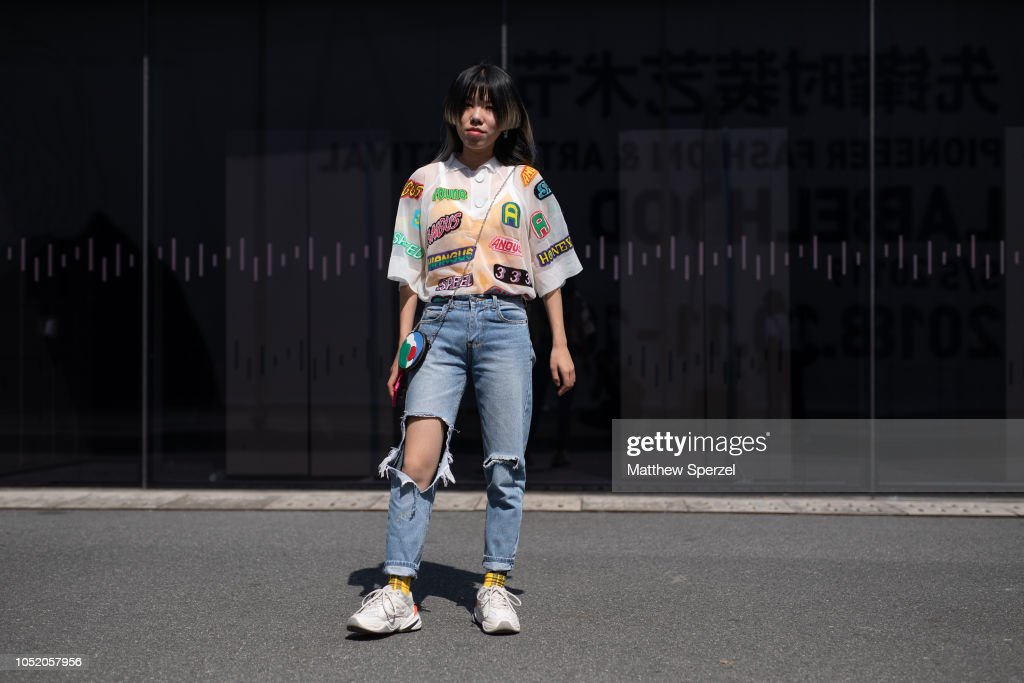 Shanghai Fashion Week (2019 S/S Collection) - Day 4 : News Photo