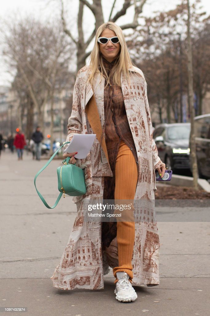 A Guest Is Seen On The Street During Men S Paris Fashion Week Aw19