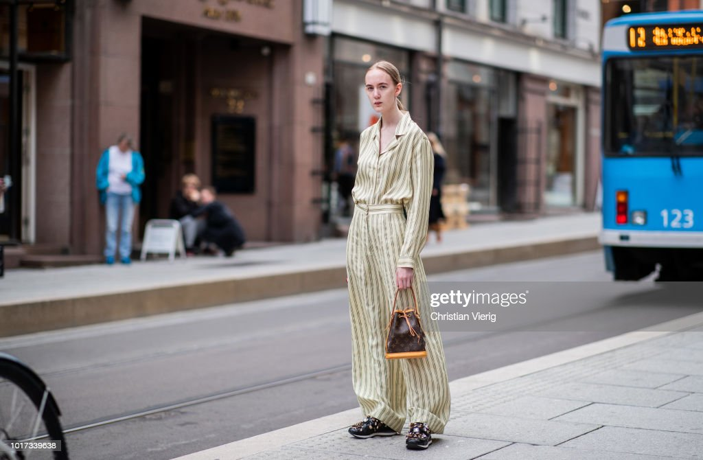 Street Style - Oslo Runway SS19 : News Photo