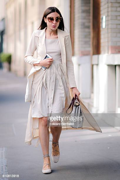Guest is seen outside the Paskal show during Paris Fashion Week Spring Summer 2017 on September 27, 2016 in Paris, France.