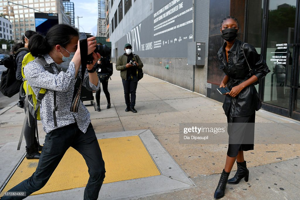 Seen Around - September 13, 2020 - New York Fashion Week: The Shows : News Photo