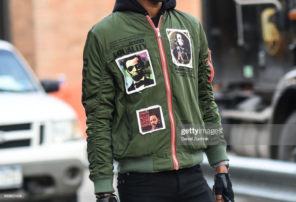 Street Style - NYFW: Men's - Day 4 : News Photo