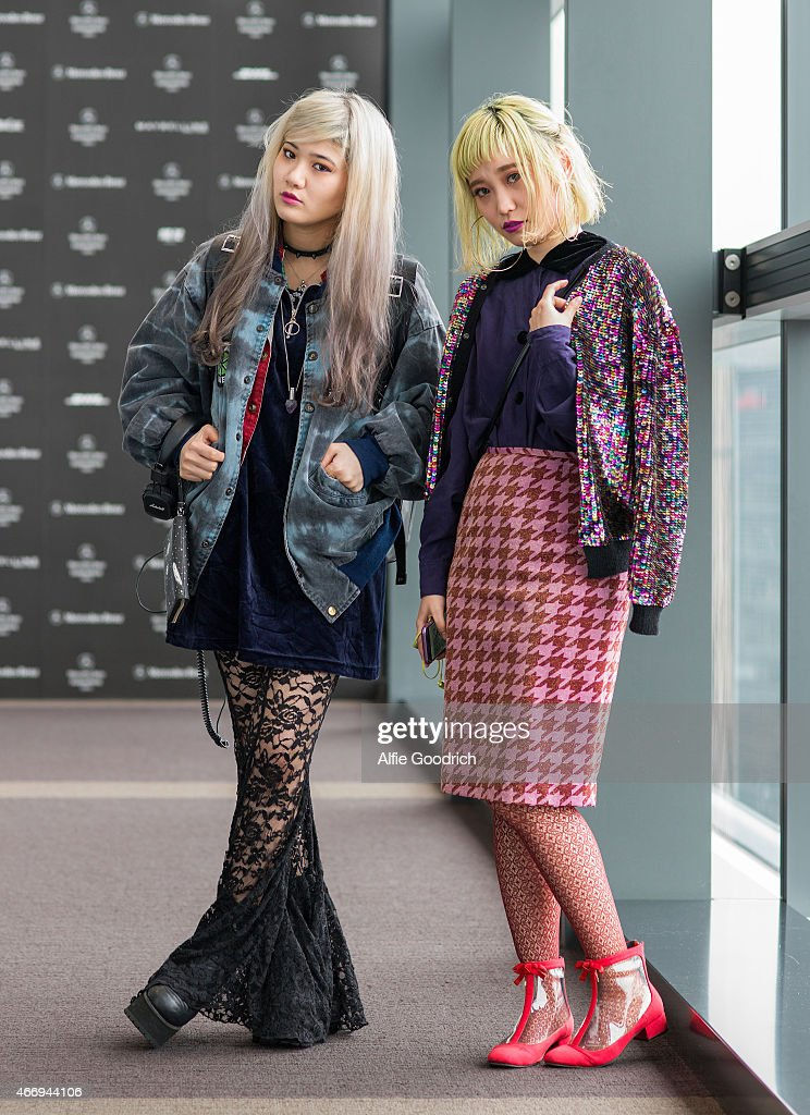 Street Style - Day 5 - MBFW Tokyo 2015 A/W : News Photo