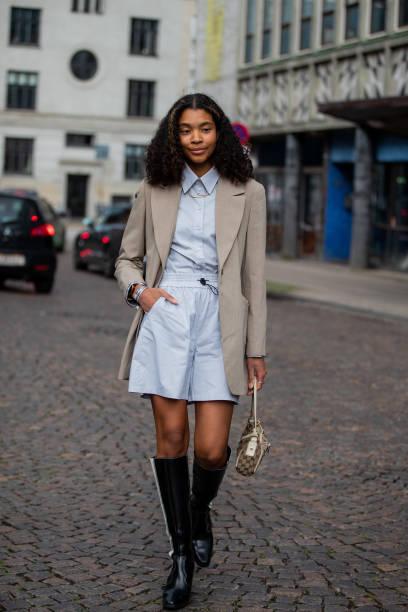 DNK: Street Style - Day 1 - Copenhagen Fashion Week Spring/Summer 2022