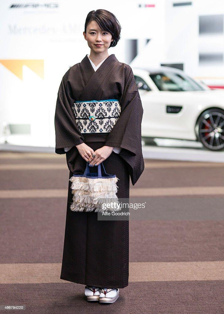 Street Style - Day 4 - MBFW Tokyo 2015 A/W : News Photo
