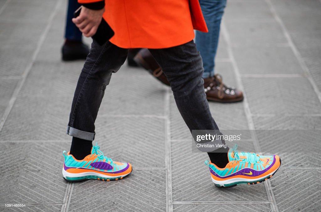 Street Style: January 8 - 95. Pitti Uomo : News Photo