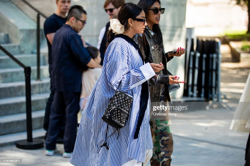Street Style : Paris Fashion Week - Menswear Spring/Summer 2020 : Day Five : Photo d'actualité