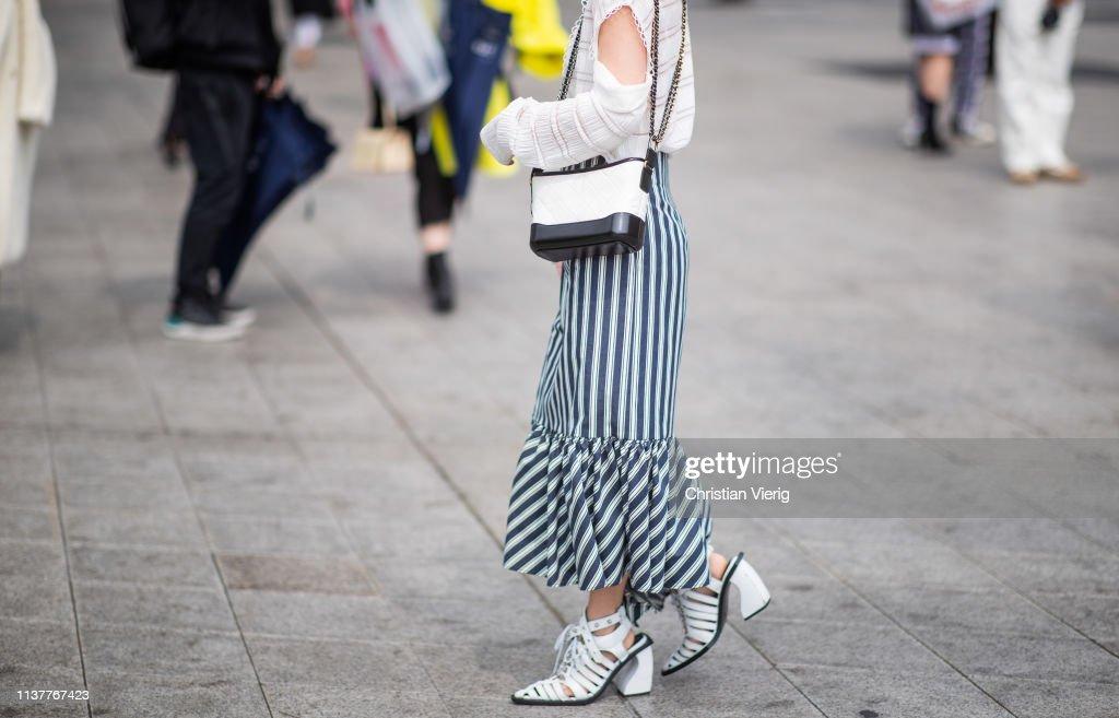 Street Style - Hera Seoul Fashion Week 2019 F/W - Day 4 : News Photo