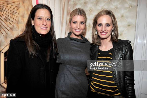 Guest Ivanka Trump and Lauren Santo Domingo attend Ivanka Trump Celebrates the Debut of BOIS BLANC Alexa Rodulfo's New Candle Collection at Ivanka...