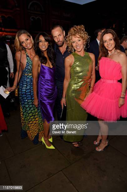 Guest Jackie Sinclair Jason Gardner Kelly Hoppen and Kimberleigh Gelber attend The VA Summer Party 2019 in partnership with Dior on June 19 2019 in...
