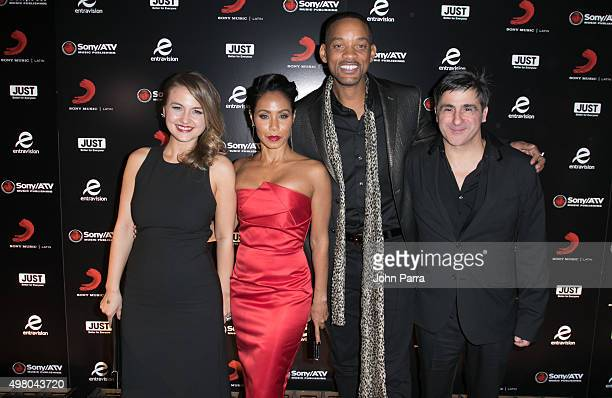 Guest Jada Pinkett Smith Will Smith and Afo Verde attend Sony Music Latin's Official Latin Grammy After Party at XS nightclub at Encore Las Vegas on...