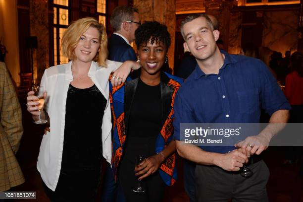 """Guest, Jade Anouka and Russell Tovey attend an after party for """"Happy Birthday, Harold"""", a charity gala celebrating the life and work of Harold..."""