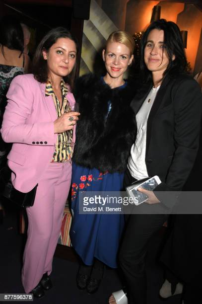guest Jaime Perlman and Emily Sheffield attend the Nick Cave The Bad Seeds x The Vampires Wife x Matchesfashioncom party at Loulou's on November 22...