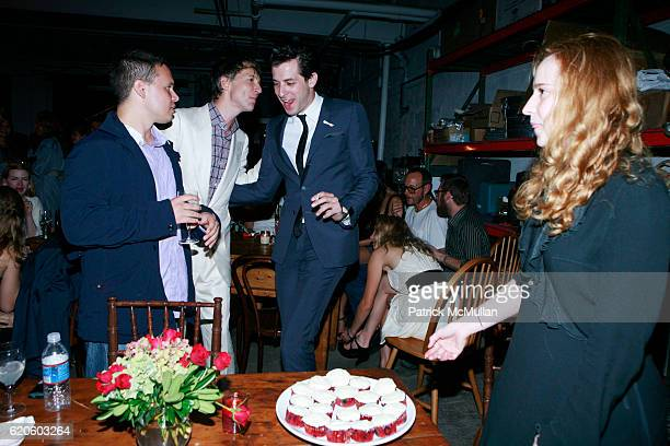 Guest Jefferson Hack and Mark Ronson attend ANOTHER MAGAZINE Dinner With BAMFORD and VILLENCY EMERGING FASHION FUND at DUSTIN YELLIN STUDIO on...