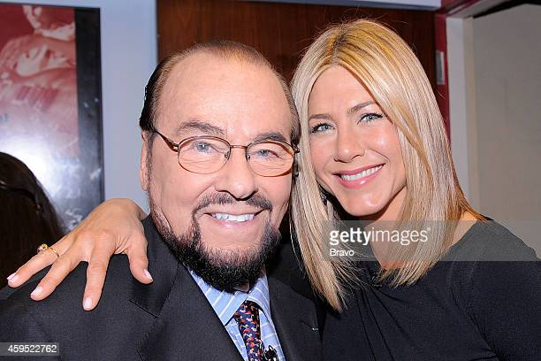 Jennifer Aniston Pictured Host James Lipton actress Jennifer Aniston