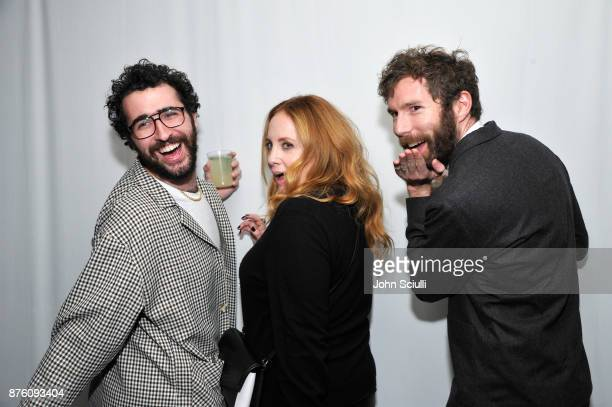 Guest Jessica Chaffin and Charles Rogers attend the 'Search Party' cocktail reception during Vulture Festival LA presented by ATT on November 18 2017...