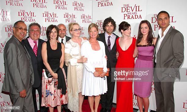 Guest, Jim Gianopulos, Chairman of Fox, Carla Hacken, Producer, Fox 2000, Stanley Tucci, Meryl Streep, Elizabeth Gabler, President, Fox 2000, Adrian...