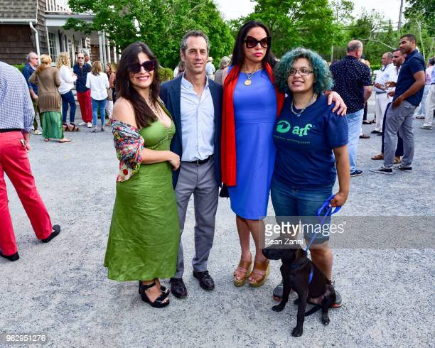 Guest Joe Eisner Rolise Rachel and Cyrena McEntire attend ARF Thrift Shop Designer Show House Sale at ARF Thrift Treasure Shop on May 26 2018 in...