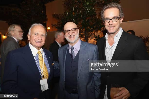 Guest Joe Neumaier and Sam Bisbee attend the 2019 Sarasota Film Festival on April 13 2019 in Sarasota Florida
