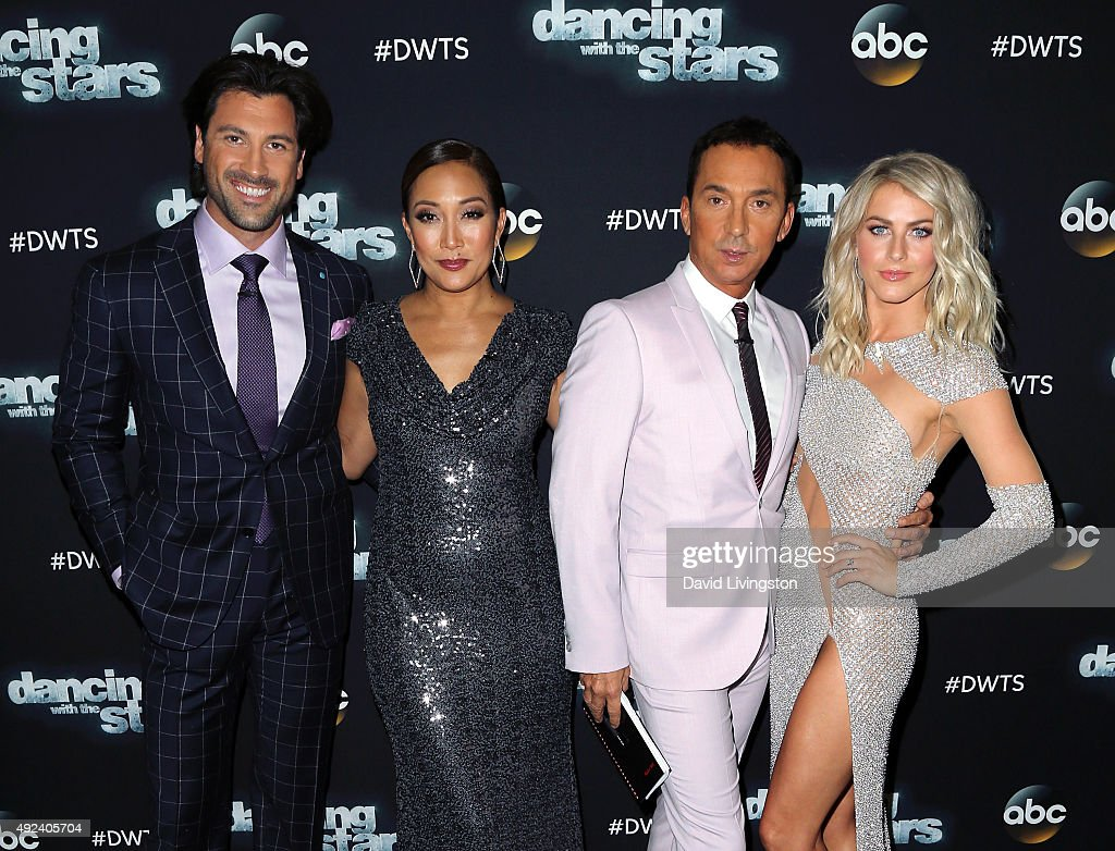 """""""Dancing With The Stars"""" Season 21 - October 12th, 2015 : News Photo"""