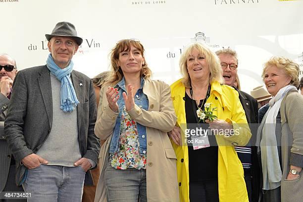 Guest, Julie Debazac, Mylene Demongeotand Marie Christine Barrault attend the 'Journees Nationales du Livre et du Vin 2014' At Bouvet Ladurey Cellars...