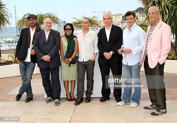 Guest Keith Griffith Actress Wallapa Mongkolprasert Director Apichatpong Weerasethakul Simon Filed Charles de Meaux and Luis Minarro and attend the...