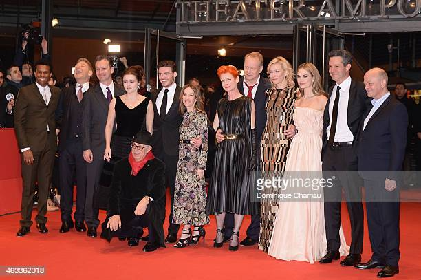 Guest Kenneth Branagh guest Helena Bonham Carter Dieter Kosslick Richard Madden Alli Shearmur Sandy Powell Stellan Skarsgard Cate Blanchett Lily...