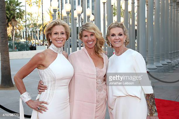 Guest Kevyn Wynn and LACMA Trustee Elaine Wynn attend the LACMA 50th Anniversary Gala sponsored by Christie's at LACMA on April 18 2015 in Los...
