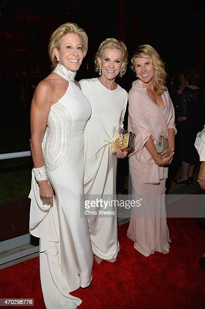 Guest LACMA Trustee Elaine Wynn and Kevyn Wynn attend the LACMA 50th Anniversary Gala sponsored by Christie's at LACMA on April 18 2015 in Los...