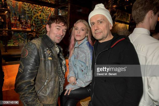 Guest Lady Mary Charteris and Fat Tony attend the TOMMYNOW after party at Annabels on February 16 2020 in London England