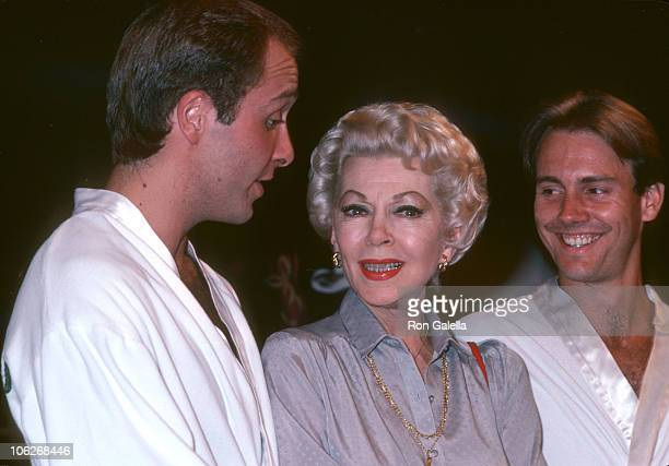 Guest Lana Turner guest during Oh Calcutta Party July 11 1980 at Edison Theater in New York City New York United States