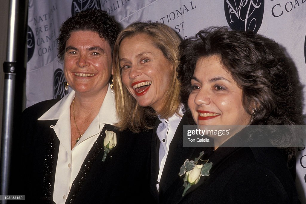 Guest, Lauren Hutton, and Dr. Susan Love during National Breast Cancer Coalition Dinner Honors Ron Perelman at Pierre Hotel in New York City, New York, United States.