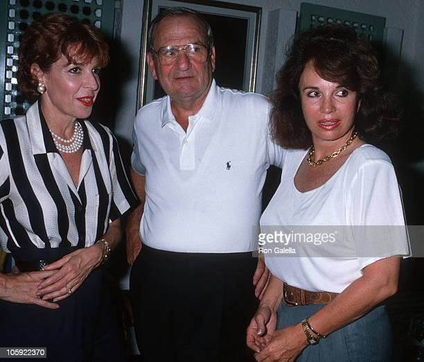 guest Lee Iacocca and Darrien Earle during Malcolm Forbes' 70th Birthday Party 1989 at Tangier Country Club in Tangier Morocco Morocco