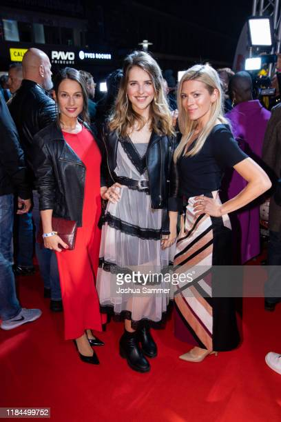 Guest Leonie Brill and Nele Kiper at the Film Premiere of Der letzte Bulle at Lichtburg on October 30 2019 in Essen Germany