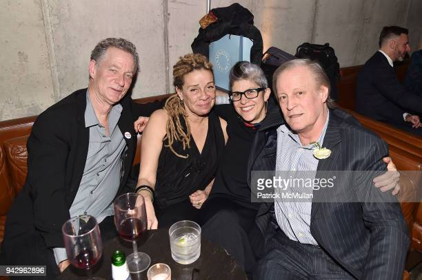 Guest Lisa Corinne Davis Penelope Umbrico and Patrick McMullan attend the Spring Party to benefit Aperture and to celebrate The Photographer in the...