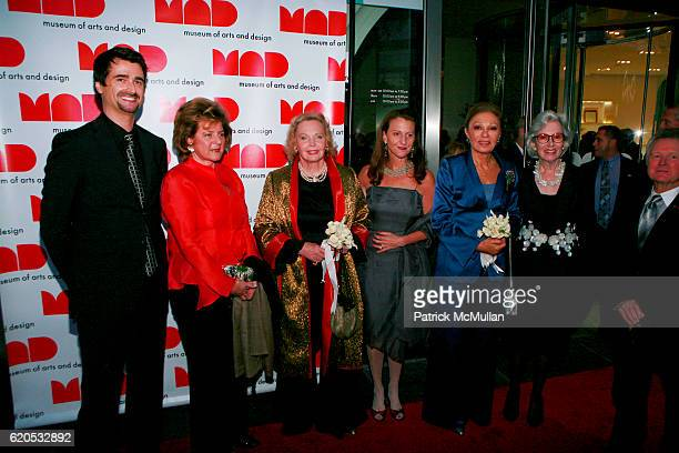 Guest LIW Leila S Diba Princess Marianne Bernadotte Holly Hotchner HM Farah Pahlavi and Barbara Tober attend THE MUSEUM OF ARTS AND DESIGN Opening...